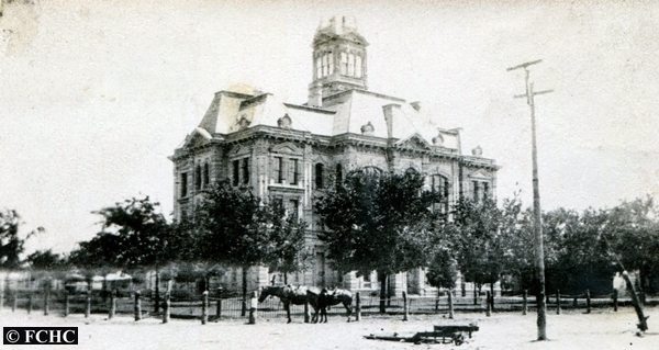 The Old Falls County Courthouse